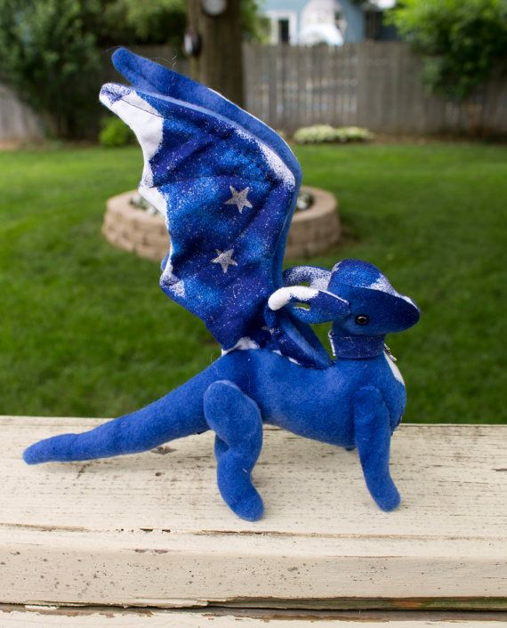 Jointed Dragon Plush Stuffed Animal Sewing Pattern | Animal sewing ...