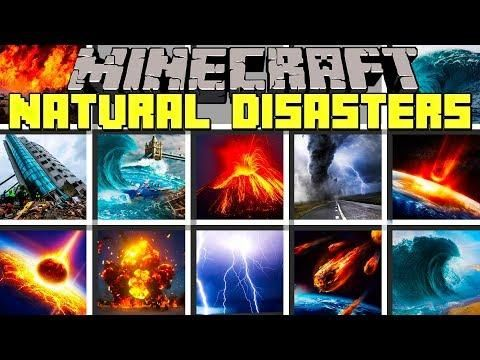 Minecraft natural disasters survival