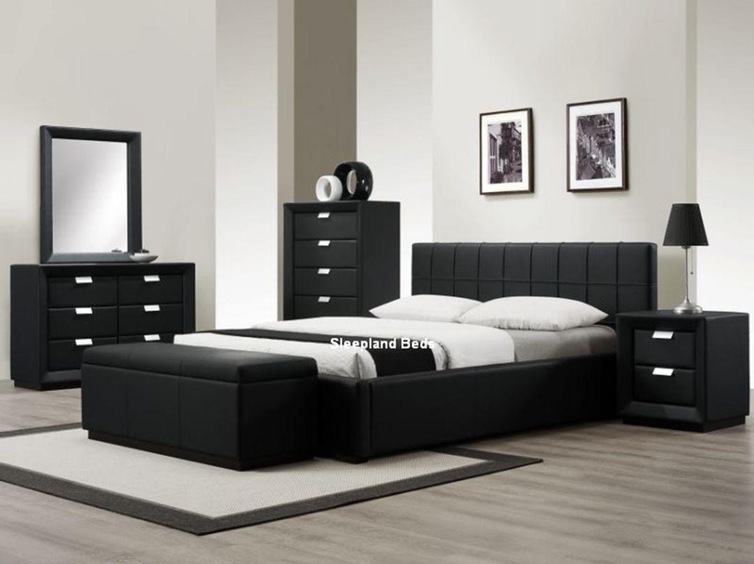 Dark Cozy Bedroom With 25 Elegant Black Bedroom Furniture Ideas Black Bedroom Sets Black Bedroom Furniture Set King Bedroom Sets