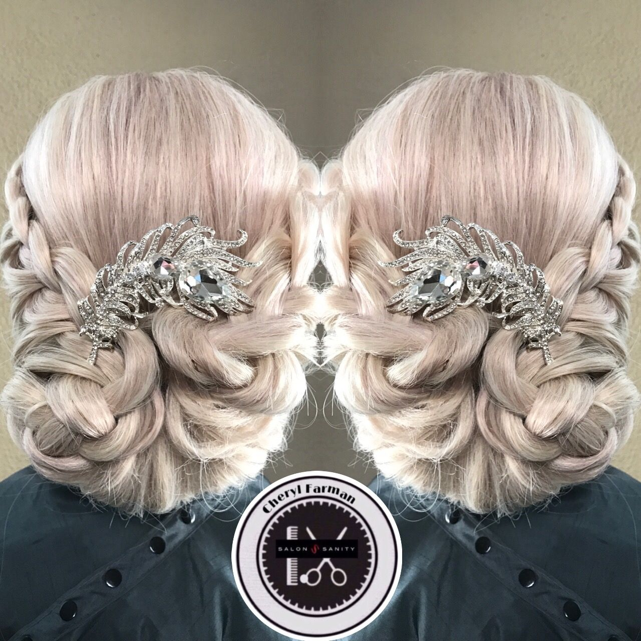 Calling all brides check out this Special occasion hair by Cheryl Farman. #nolabrides # ...