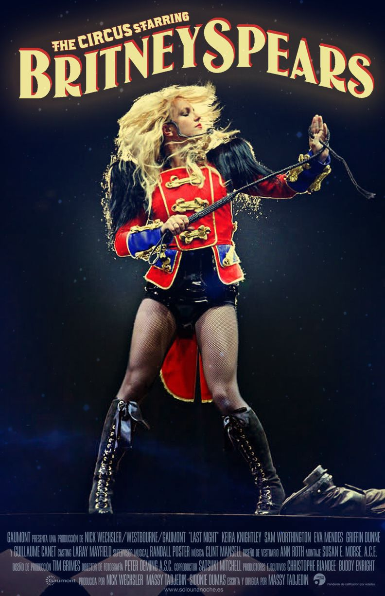 The Circus Starring Britney Spears Tour The Circus