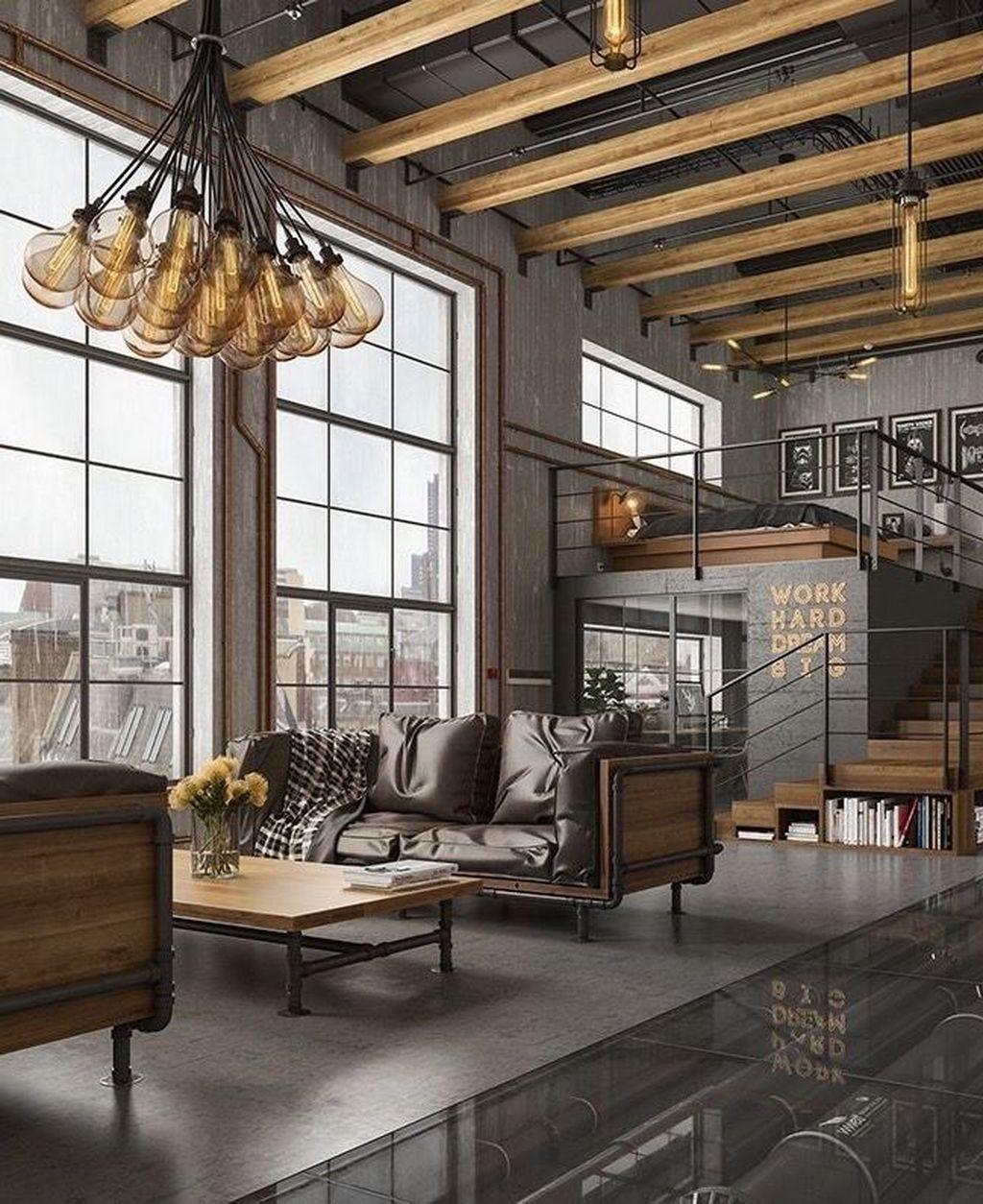 Best Tips On Industrial Living Rooms Insplosion Industrial Style Living Room Industrial Home Design Industrial Livingroom