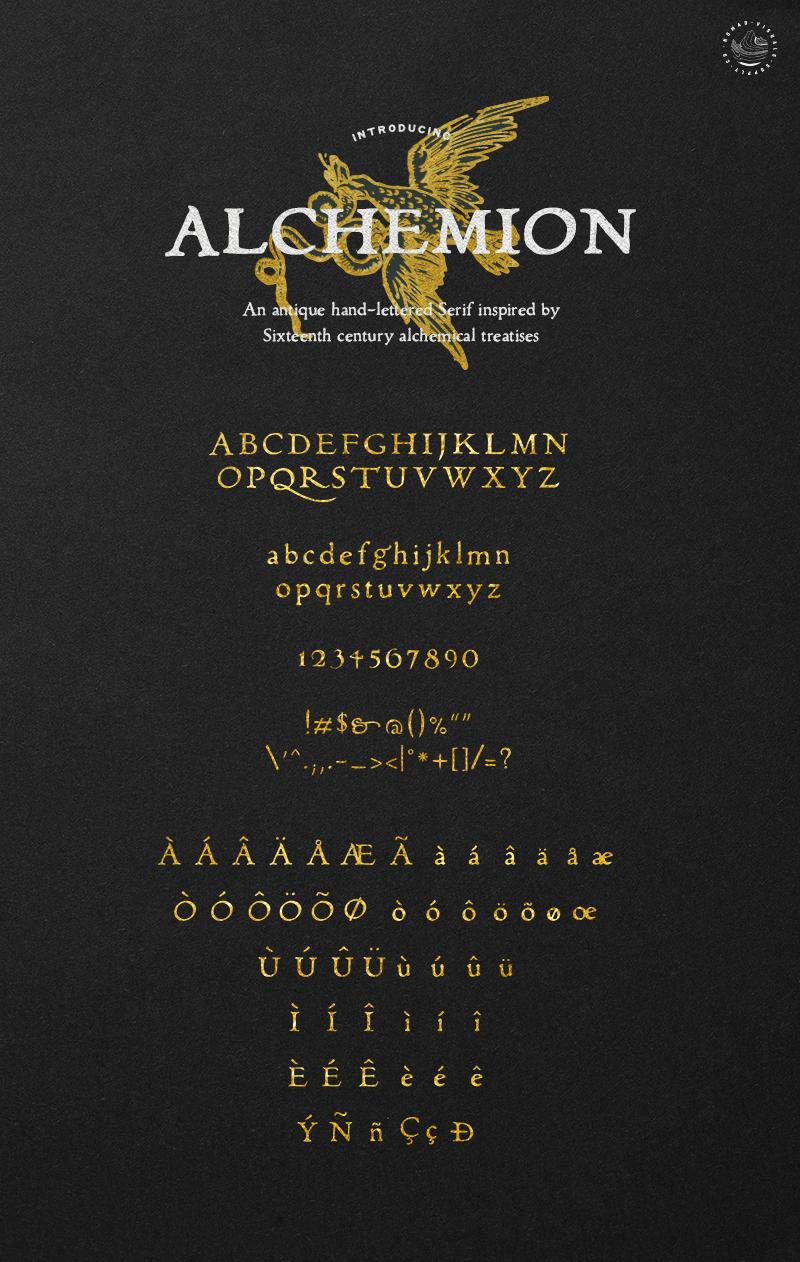 Alchemion Font