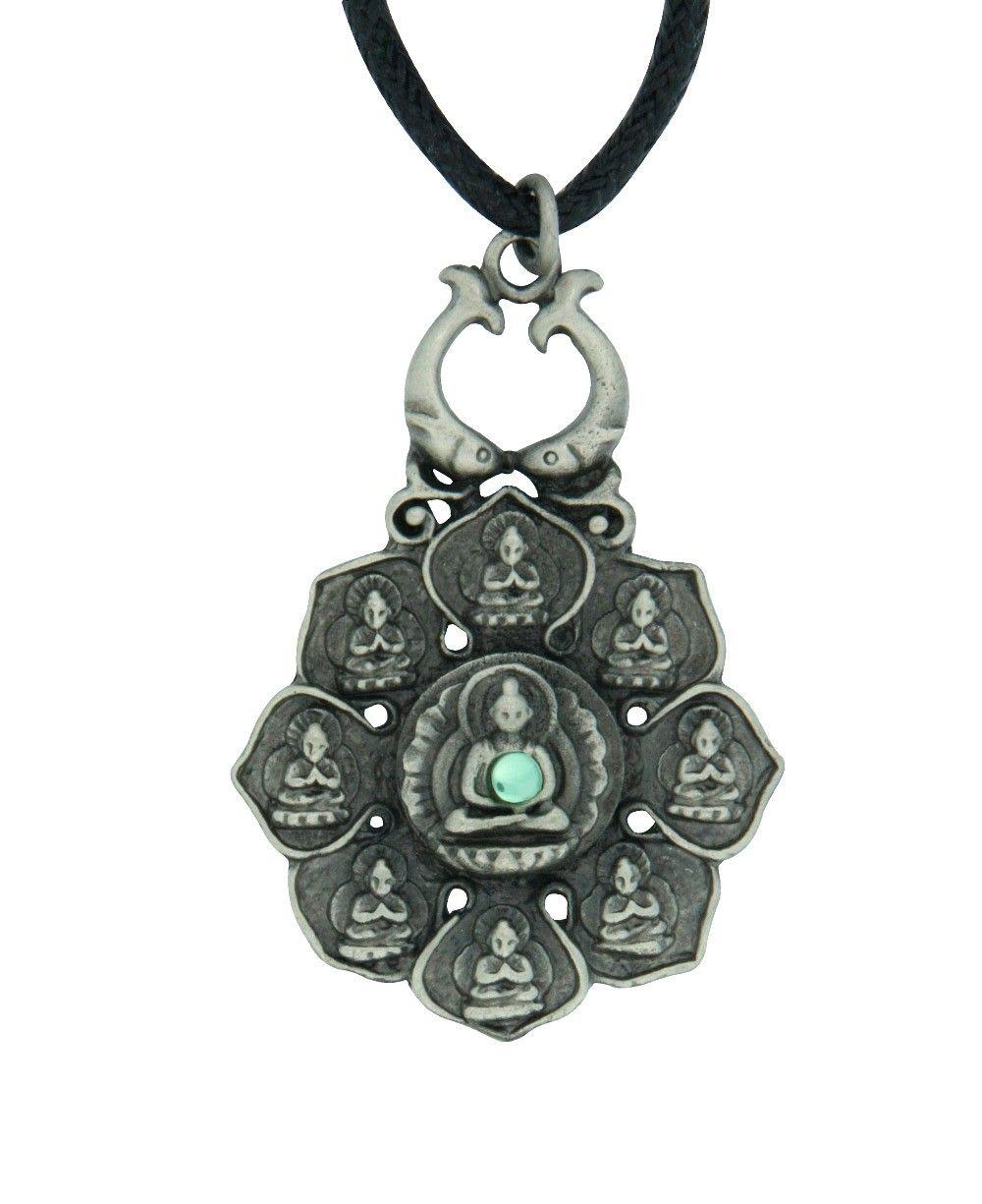 Large lotus pendant representing eightfold path of buddhism large lotus pendant representing eightfold path of buddhism pendants jewelry biocorpaavc Images