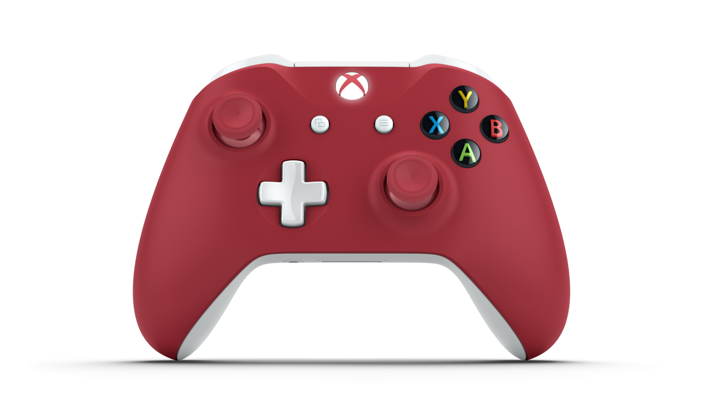 Custom Xbox One Controller Red White