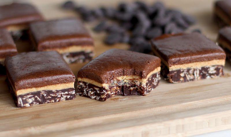chockohlawtay.blogspot.com: Triple-Decker Chocolate Peanut Butter Fudge