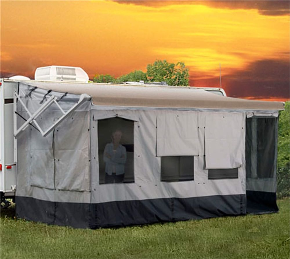 Carefree Of Colorado 291400 Rv Awning Size 14 15 Vacation R Room In 2020 Rv Camping Checklist Popup Camper Rv Camping