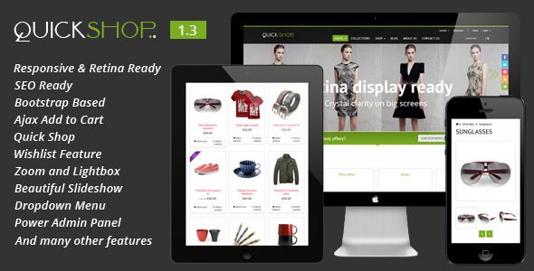 Quickshop - Responsive Shopify Theme - Shopify eCommerce