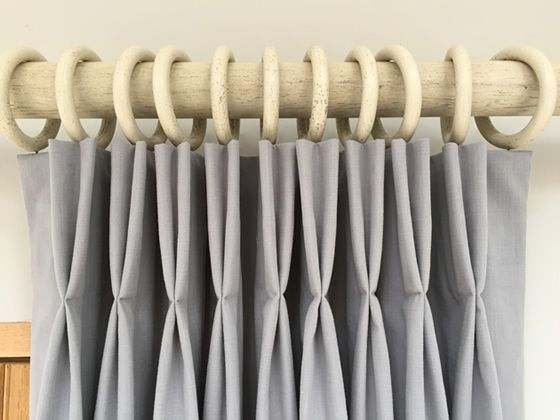 How To Make A Double Pleat Curtain Tutorial By Sew Helpful