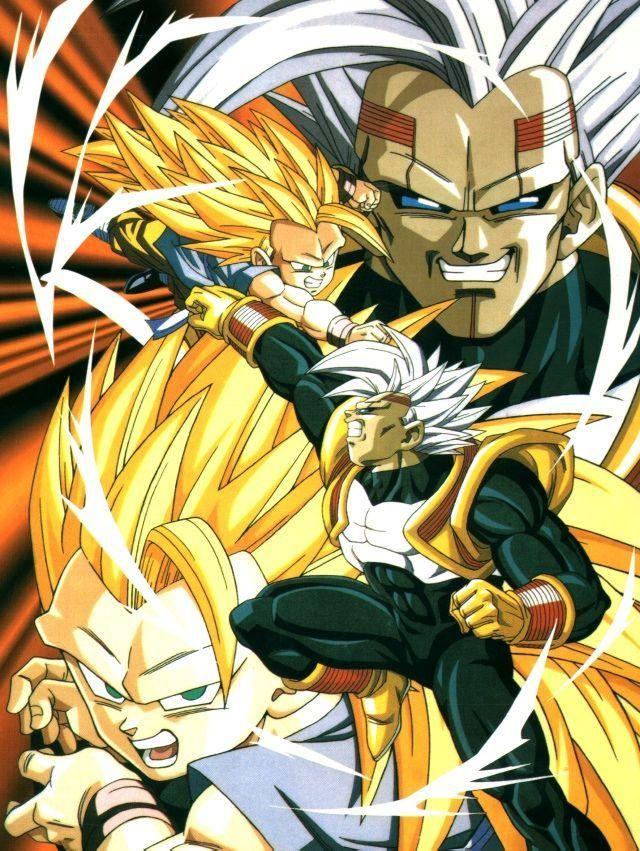 Dragon Ball Gt Goku Vs Baby Final Battle : dragon, final, battle, Vegeta, Anime, Dragon, Ball,