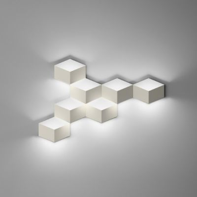 Wall Light In Designer Style Trendy And Exquisite Seven Cubes Wall Lighting Design Vibia Wall Lamp