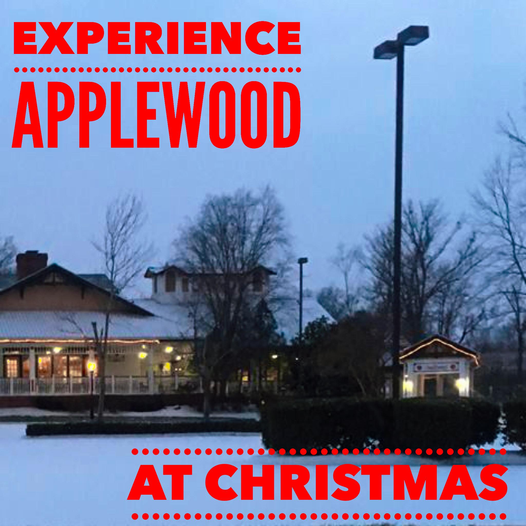The Christmas season at Applewood Farmhouse Restaurant is