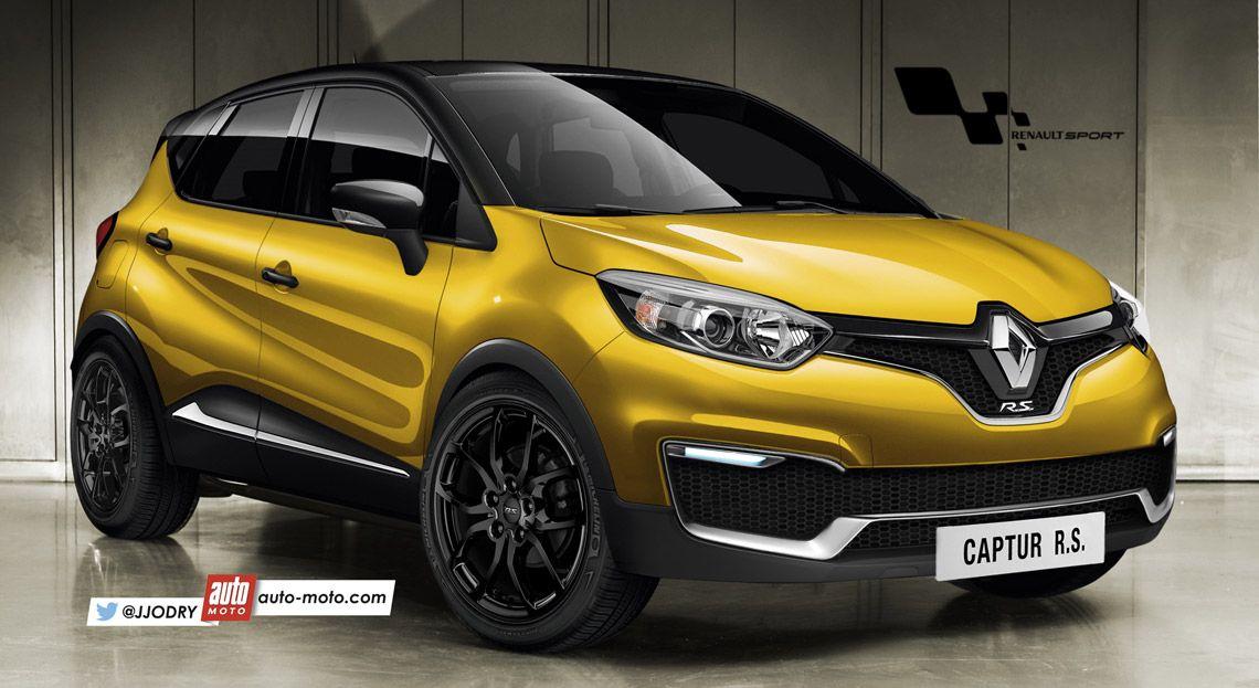 Nuevo Renault Sport R S 01 Renderings 2014: 2016 Renault Captur R.S Likely To Pack 200 Hp