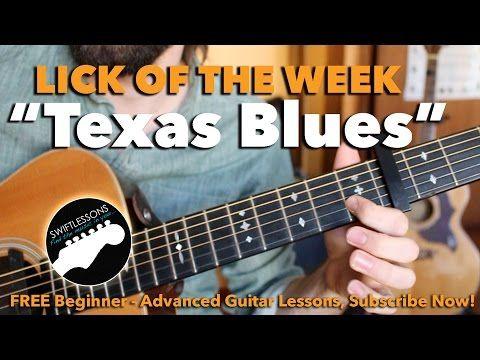Texas Blues Guitar Lesson Dream Licks Made Easy Blues Guitar Lessons Blues Guitar Guitar Lessons For Beginners