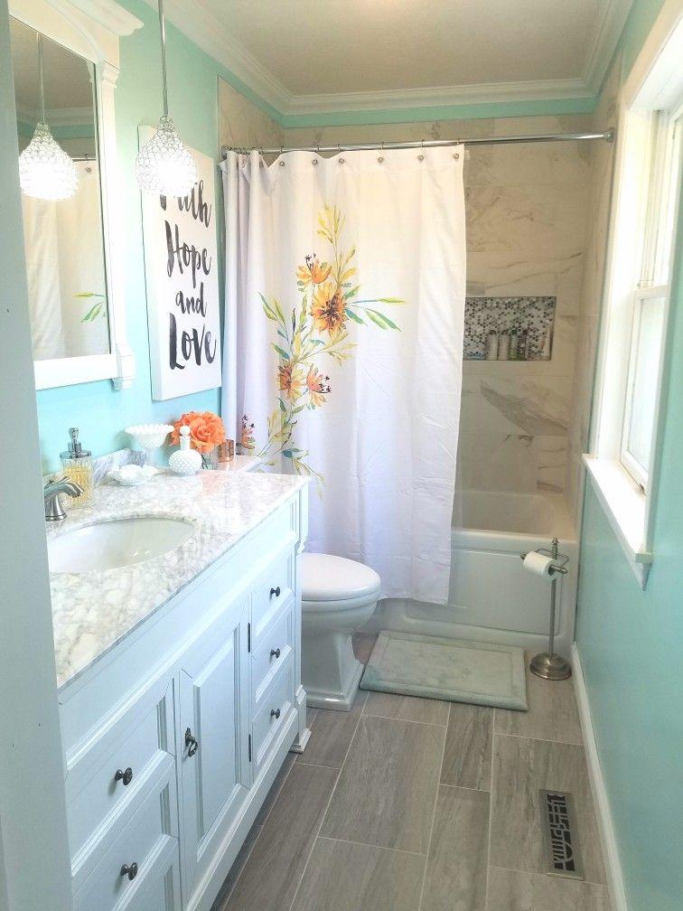 Tame Teal Sherwin Williams In 2019 Mermaid Bathroom