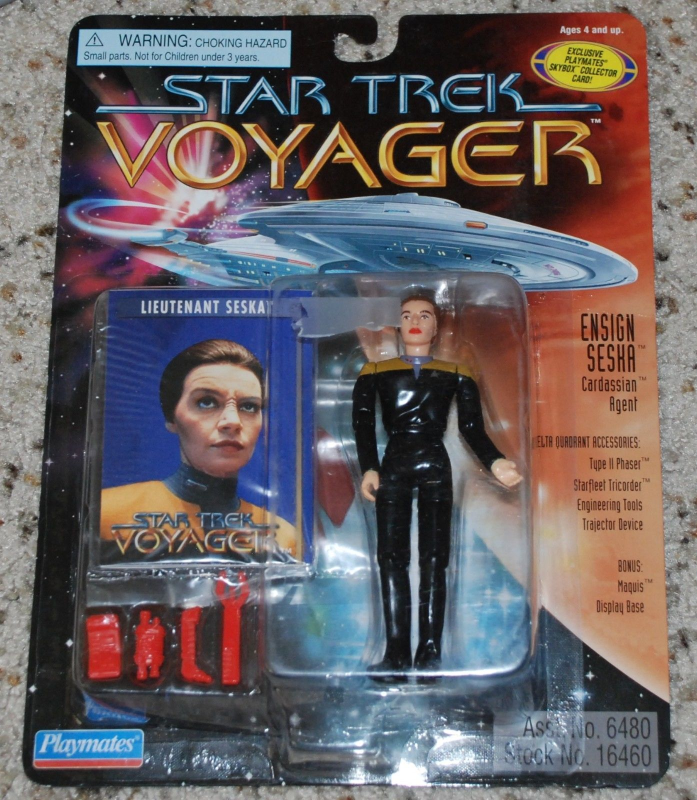 Action Figure Star Trek Series Voyager Seska as Cardassian 5 inch