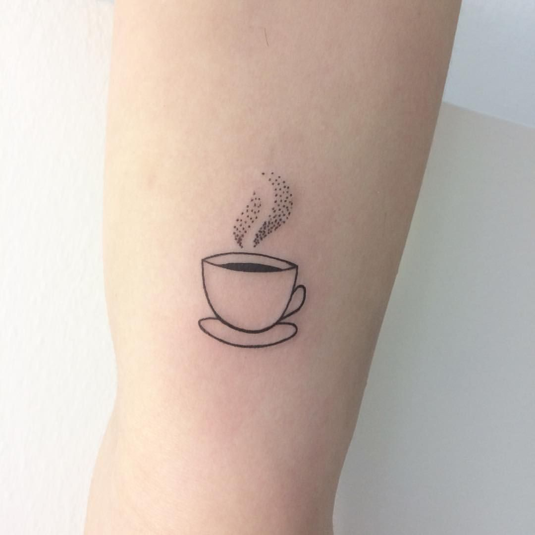 "Darja B. on Instagram: ""Cute baby coffee cup (but we all know it's tea inside"
