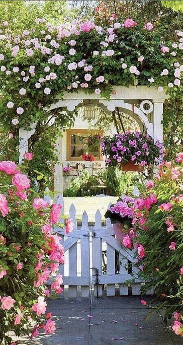 Cindy and Bob Ellis' pink painted cottage in Redlands, California • photo:...   - Dawwwg's Best Bones -