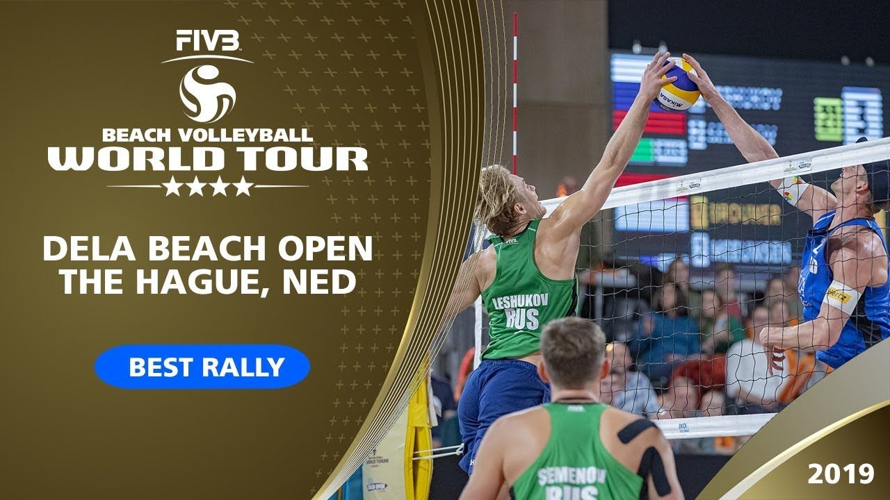 The Hague 4 Star 2019 Best Rally Beach Volleyball World Tour Beach Volleyball Volleyball Sport