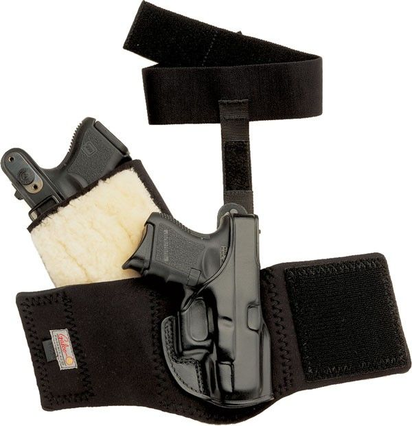 Serious gun carriers who need deep concealment and prefer an ankle holster rave about Galco's Ankle Glove™.  $75.59 - 10% discount with coupon code CHRISTMAS   The Ankle Glove may be worn with or without the optional adjustable calf strap (sold separately $21.19).