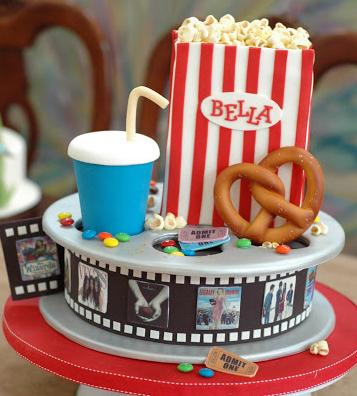 Cinema And Sugar Marvelous MovieThemed Cakes Themed Cakes - Movie themed birthday cake