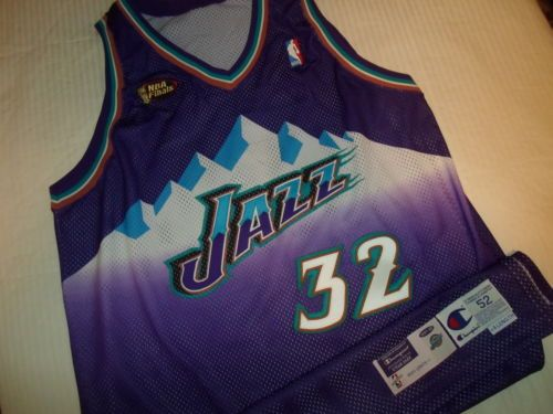 huge selection of dc8f8 a3647 Karl-Malone-1997-98-Utah-Jazz-Finals-Pro-Cut-Authentic-Game ...