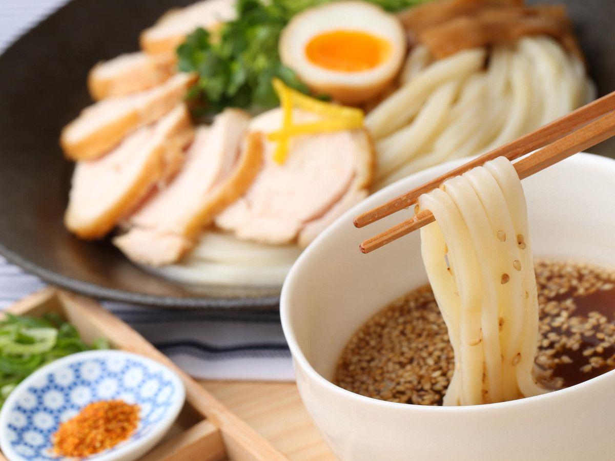 つるつると食べられる「冷たい麺」は夏の定番。冷凍庫でストック