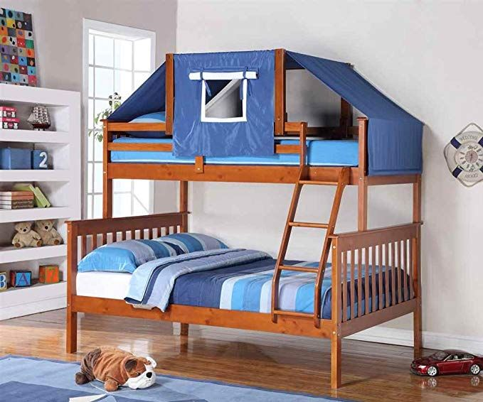 Donco Kids Twin Over Full Mission Bunk Bed Review Bed Frames