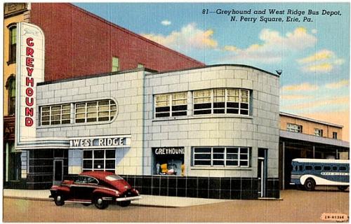 Car Dealerships Erie Pa >> West Ridge Greyhound Bus Terminal Erie Pennsylvania