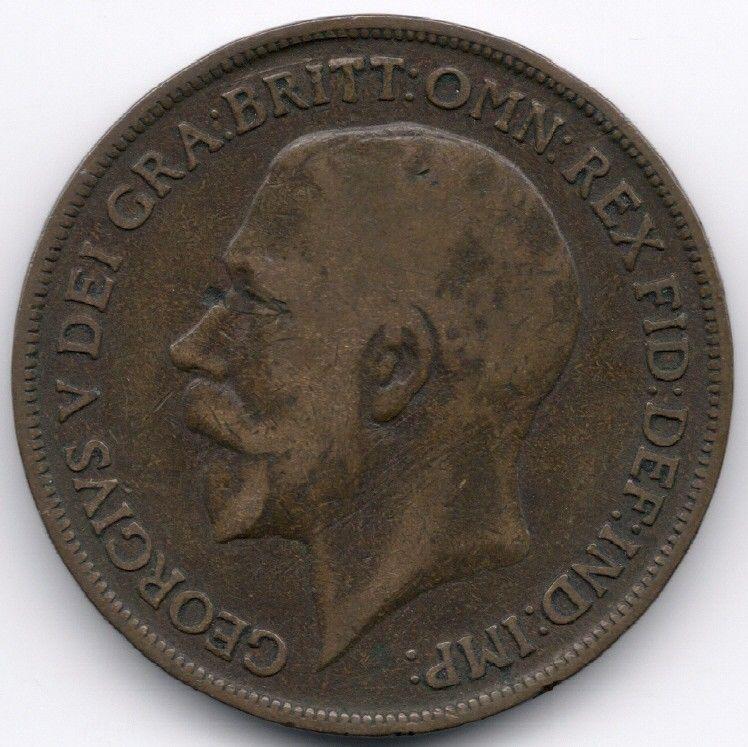 United Kingdom Penny 1918 op eBid België