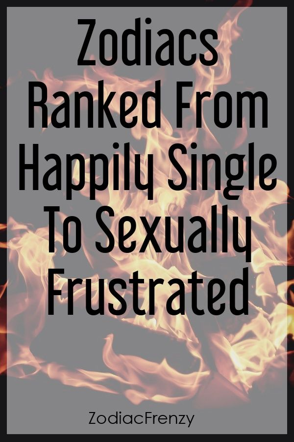 What to do when single and sexually frustrated