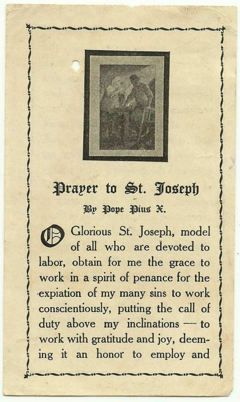Gebet zum Heiligen Ann