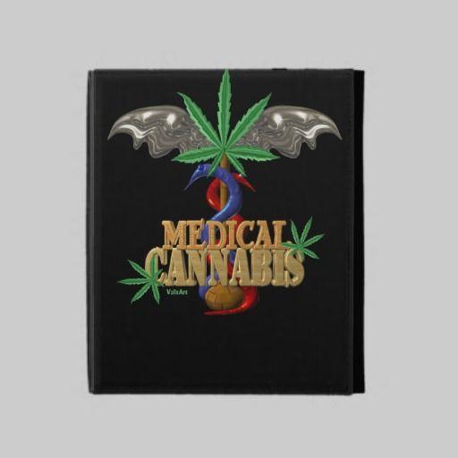 Valxart Medical cannabis/marijuana caduceus iPad Case