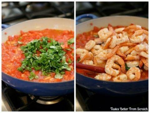 Capellini Pomodoro With Shrimp Recipe Capellini Pasta And