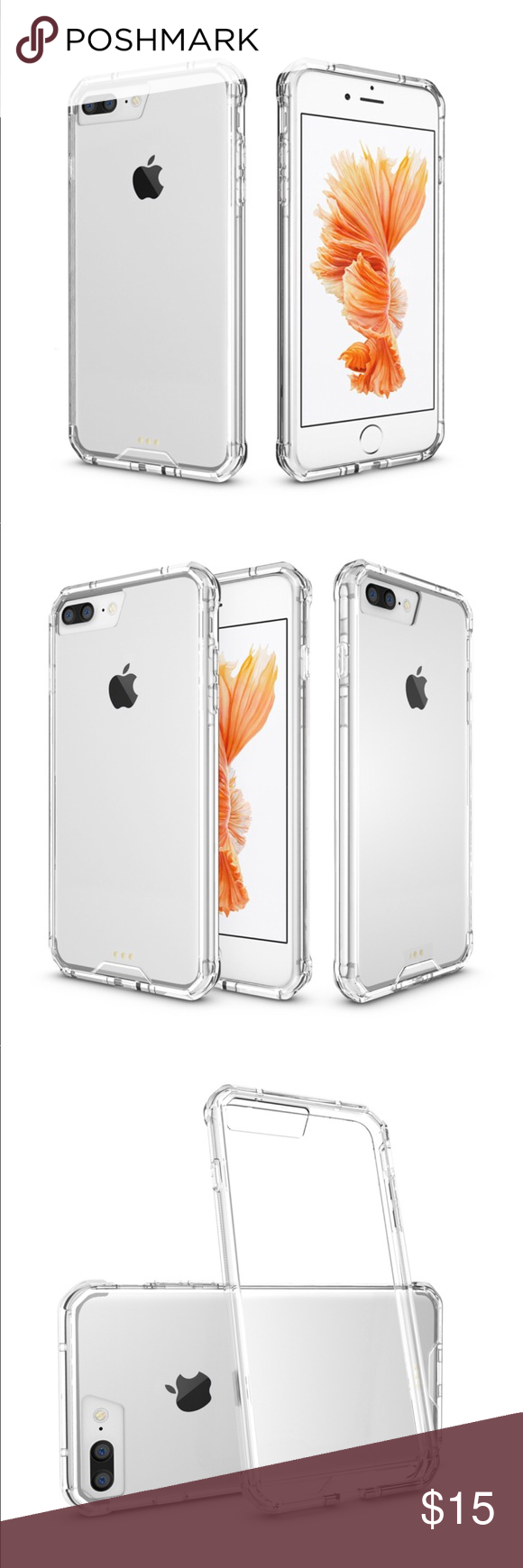 Iphone 8 8plus Clear Case Durable Protection Cover Iphone Clear Cases Iphone 8