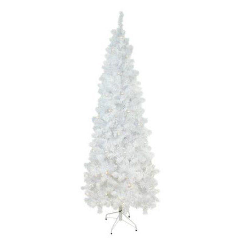 Northlight 65 ft Prelit Artificial White Winston Pine Christmas