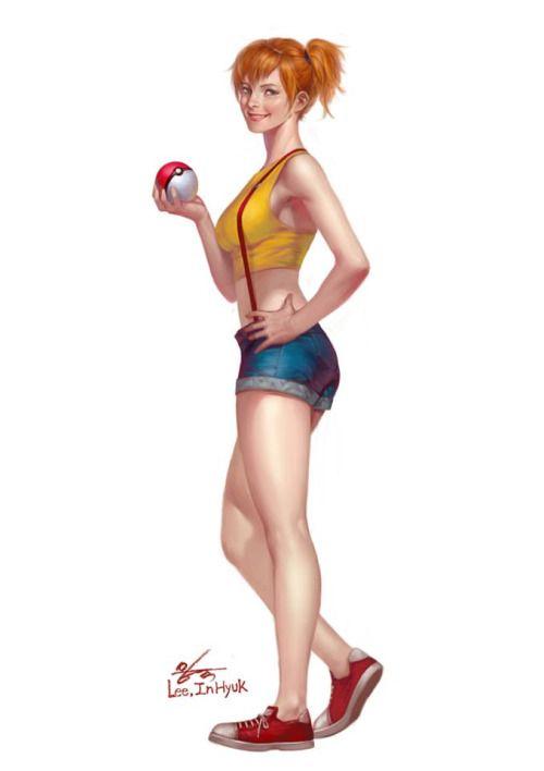 Pokemon  -  Misty  -  spyrale:  Misty by  InHyuk Lee