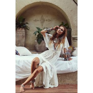 Alexandria Dress in Ivory from Tree of Life AUD$120