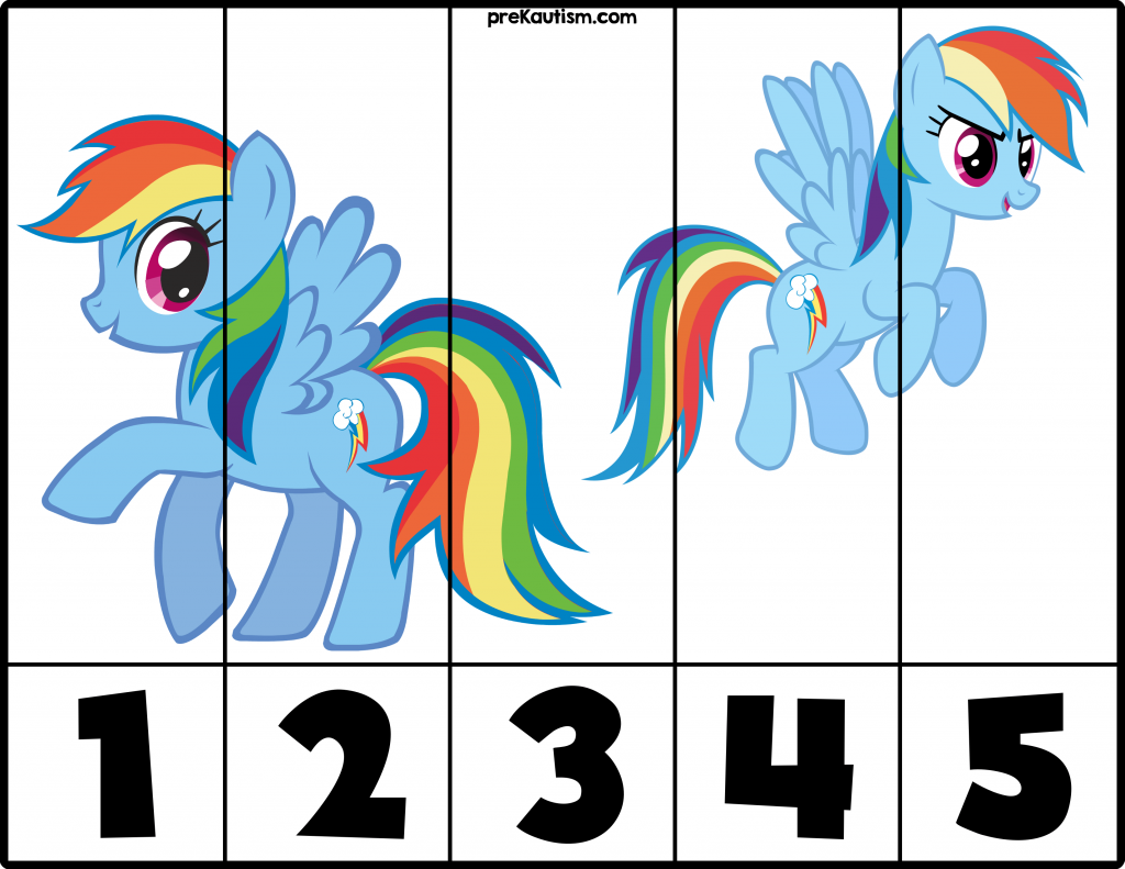 Free My Little Pony 1 5 Puzzles