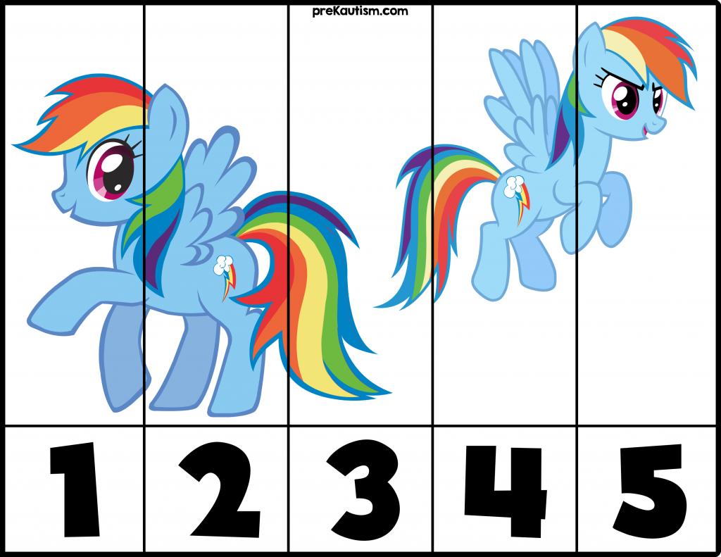 Free My Little Pony 1 5 Puzzles