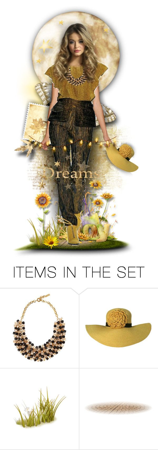 """Susie Sunflower"" by tracireuer ❤ liked on Polyvore featuring art"