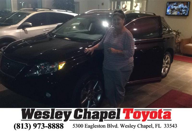 Happybirthday To Ronnie From Ross Macdonald At Wesley Chapel Toyota Wesley Chapel Lexus 2017 Toyota