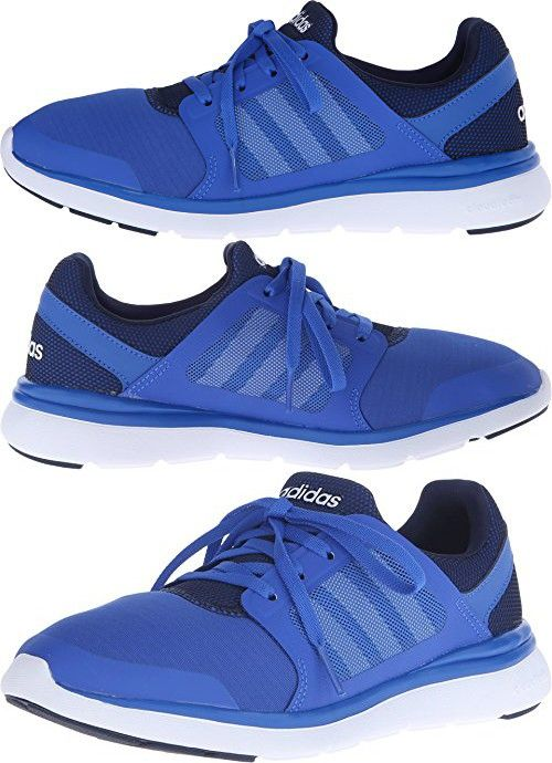 Adidas NEO Women's Cloudfoam Xpression Mid Shoes,Blue/Collegiate Navy/White ,8