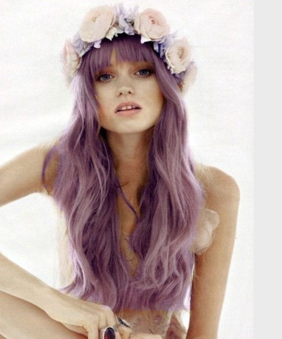 Lavender silver pastel