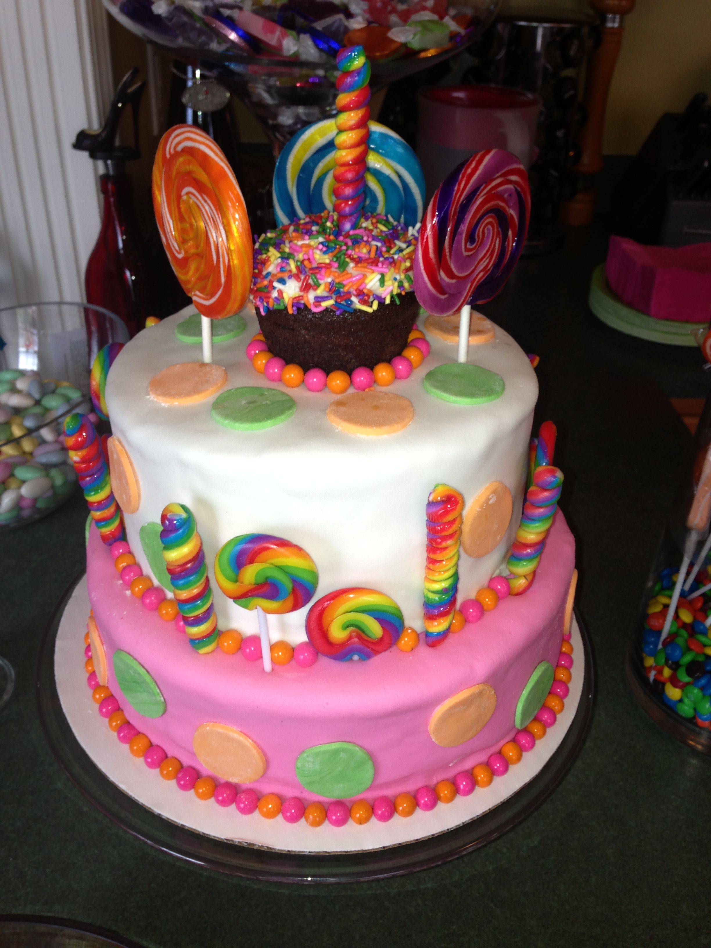 Candy Themed Birthday Cake Staggeringly Delicious Desserts Ive
