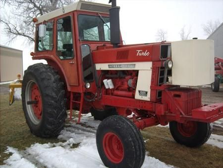 International 1066 International Tractors International Harvester