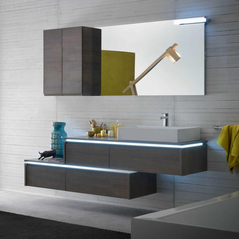 N48 Atlantic Mobile Bagno Design Per Bagno Moderno Arredamento Piccolo Bagno