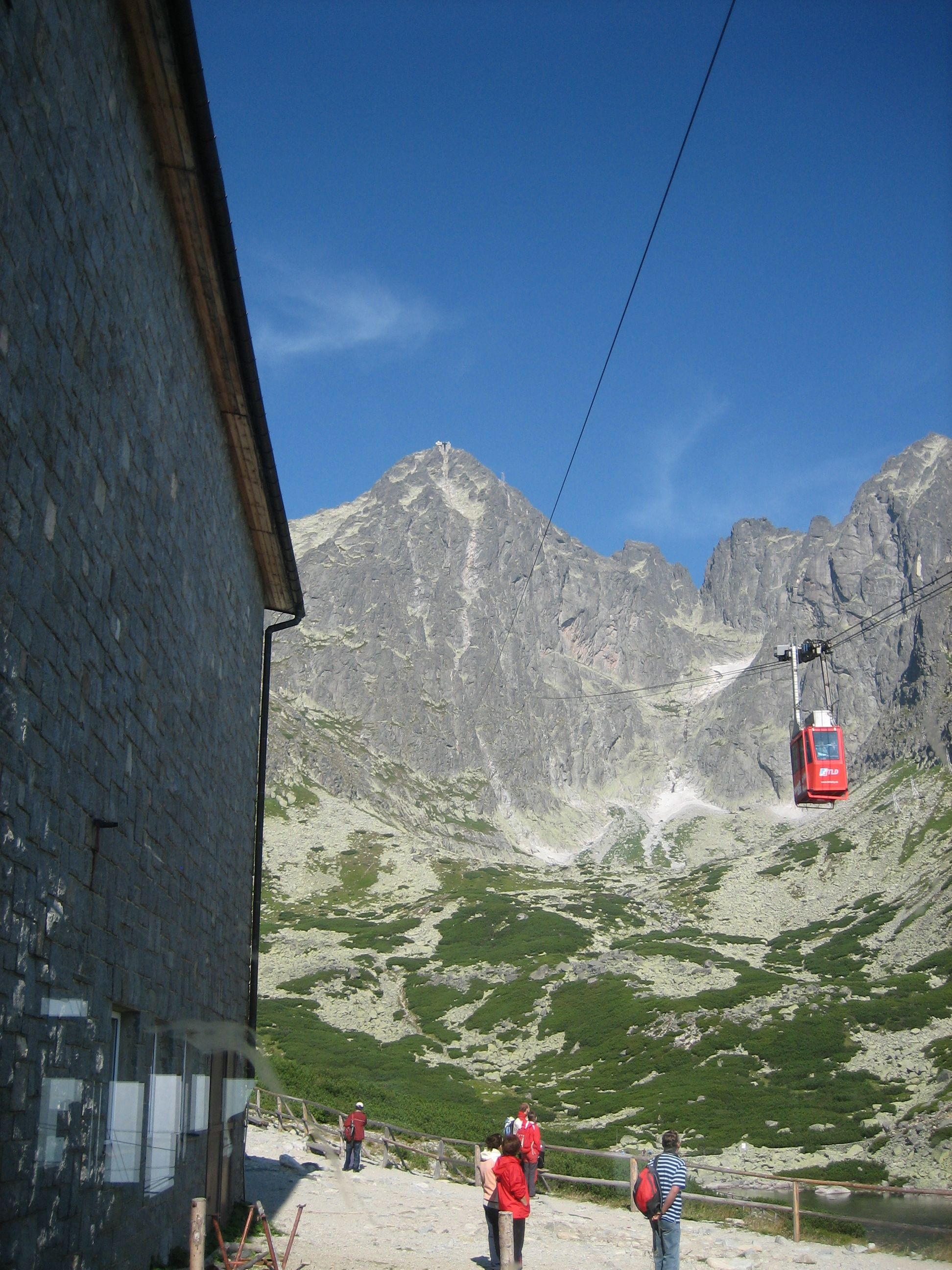 Cable Car to Lomnicky Stit (With images) Natural