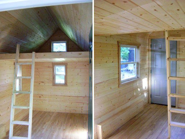 Wildflower bunkhouse interior