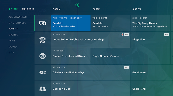 image regarding Printable Directv Now Channel Guide identified as Hulu Reside Television set is Manufacturing Extra Membership Income Than